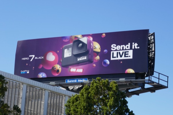 Send Live GoPro Hero 7 Black billboard