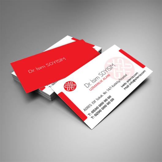 doktor kartvizit tasarımı
