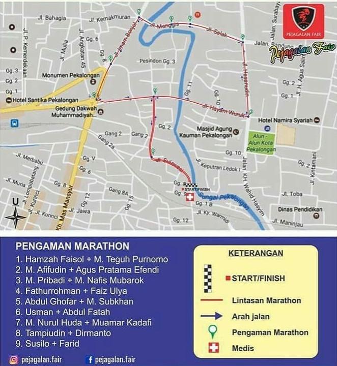 Maraton Pejagalan Fair Route 2018