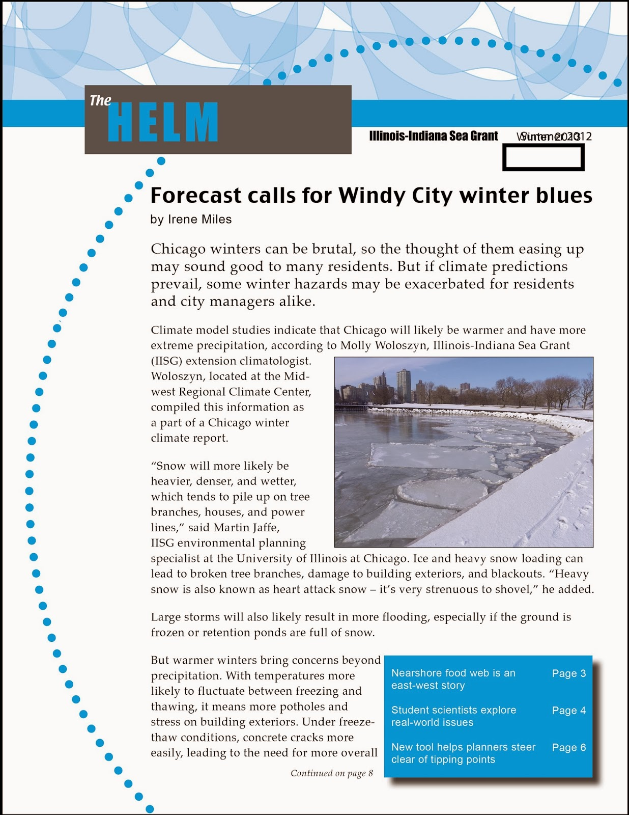Winter edition of The Helm now available | Illinois-Indiana