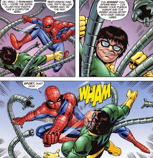 Doctor Octopus swapped minds with Peter Parker