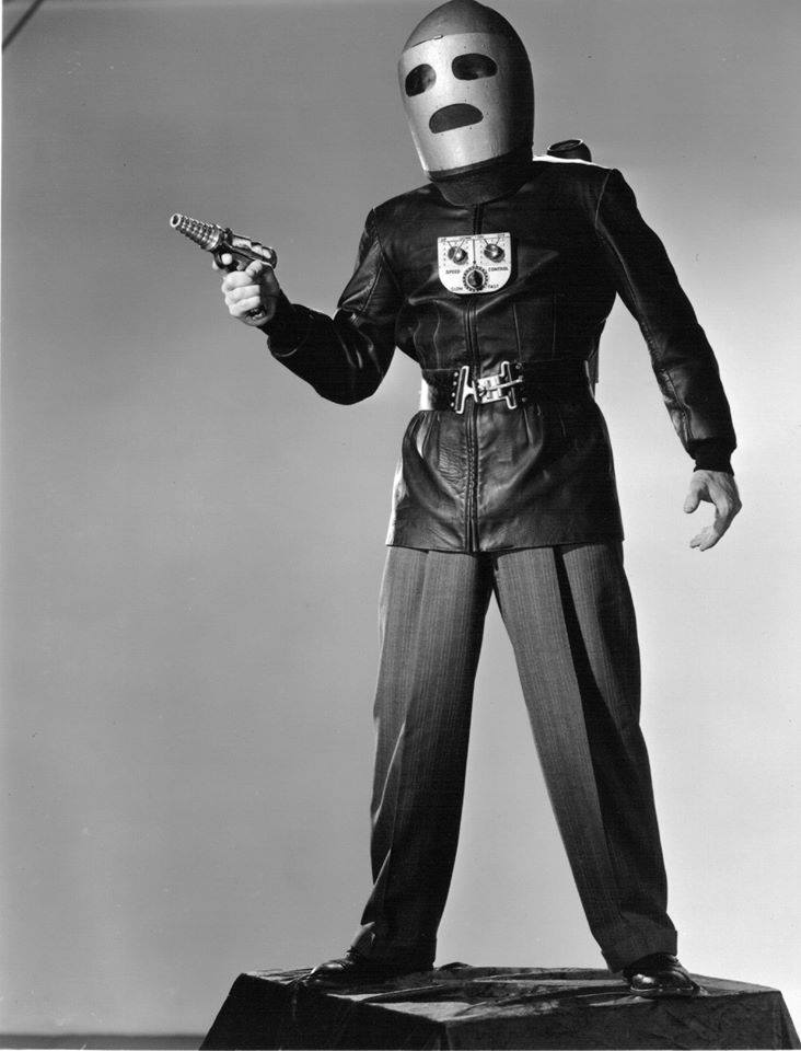 ... released to theatres first in 1953 where it just seemed to be another Commando Cody serial and then was finally syndicated as a series on NBC in 1955. & Hail to Commando Cody! Or Whatever Name You Have This Week...