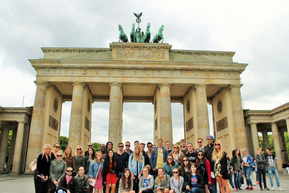 Contiki Brandenburg Gate