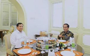 Prabowo Subianto Temui Presiden Jokowi Di Istana Negara : Keutuhan Negara Paling Penting !
