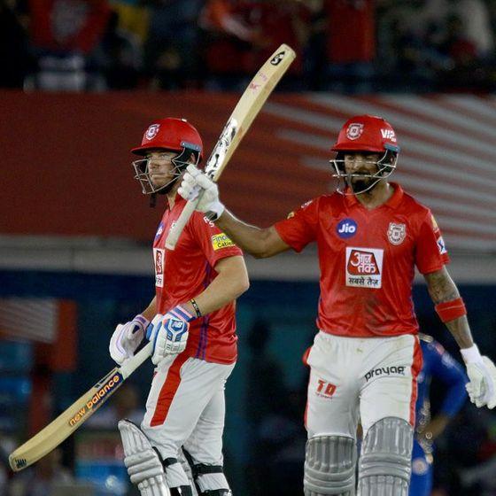 लोकेश राहुल ने मुंबई इंडियंस के खिलाफ 57 गेंदों में 71 रन बनाए