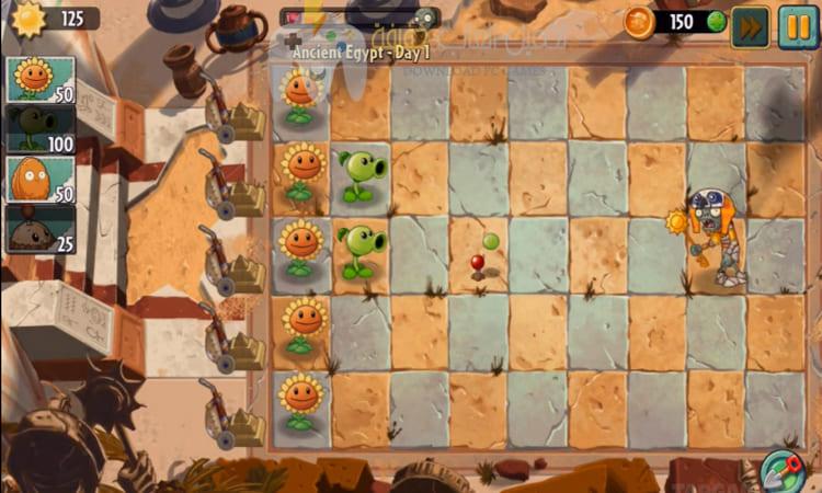 تحميل لعبة النباتات ضد الزومبي 2 Plants vs Zombies