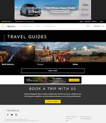 majalah online National Geographic Traveler