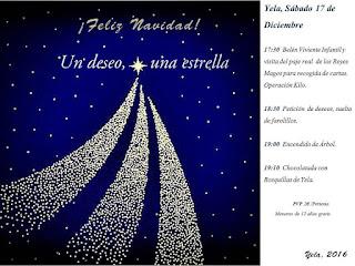 Navidad 2016 en Yela