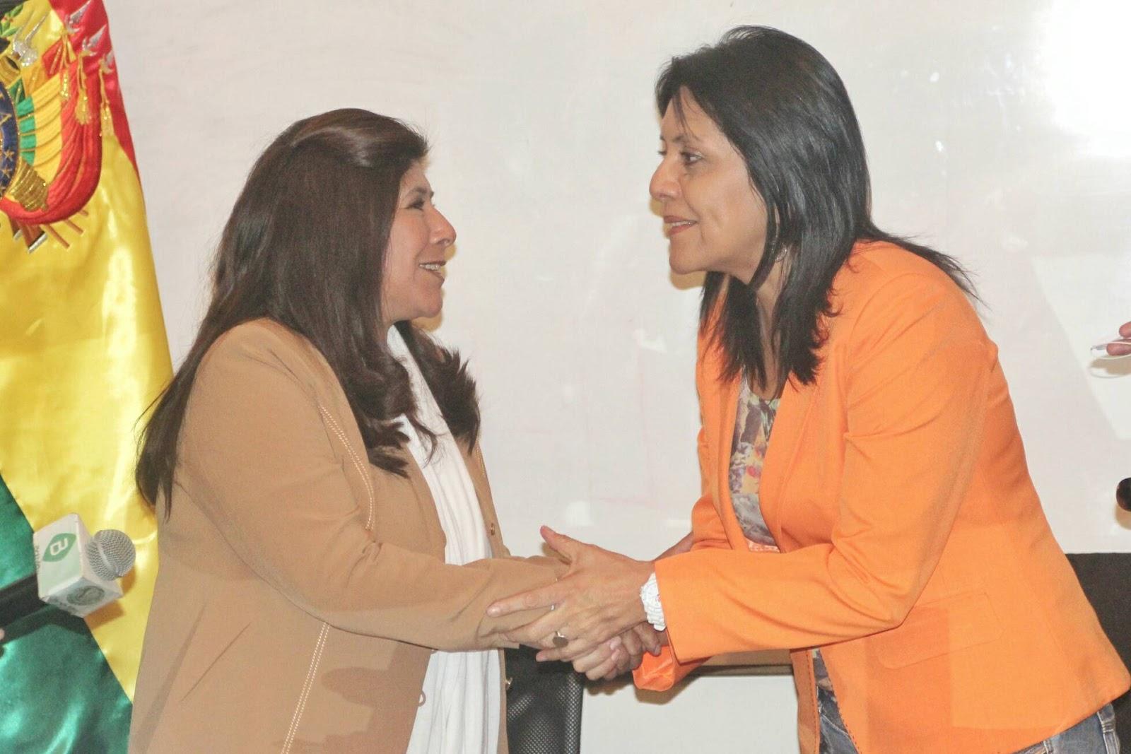 Pimentel y López, experiodistas en ejercicio, ahora en funciones del Ejecutivo / ABI