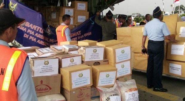TNI Kirim Bantuan Kemanusiaan Peduli Asmat