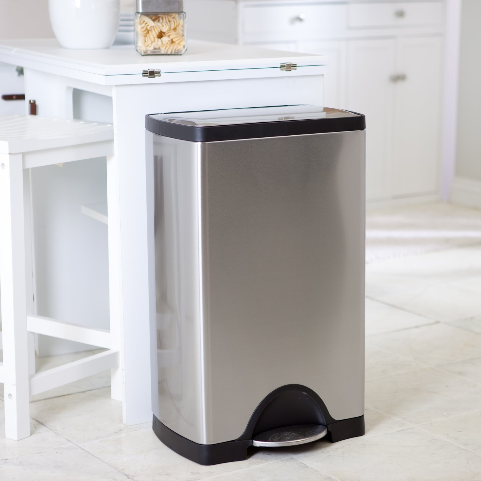 kitchen garbage cans walmart reviews & guide - kitchen remodel