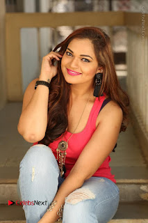 Tollywood Actress Ashwini Latest Stills in Ripped Jeans  0176.JPG