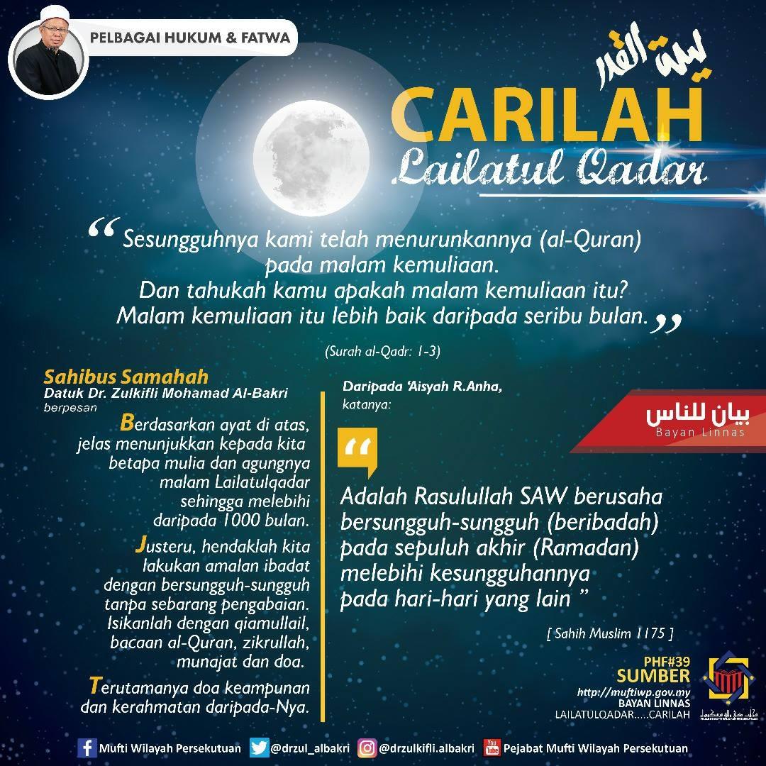 Tanda Tanda Berlakunya Malam Lailatul Qadar & Bilakah Ianya Berlaku?