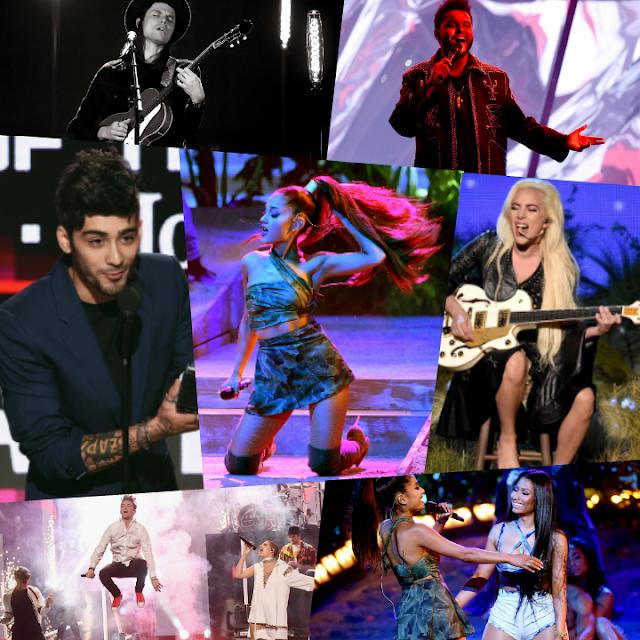 Cérémonie des American Music Awards 2016