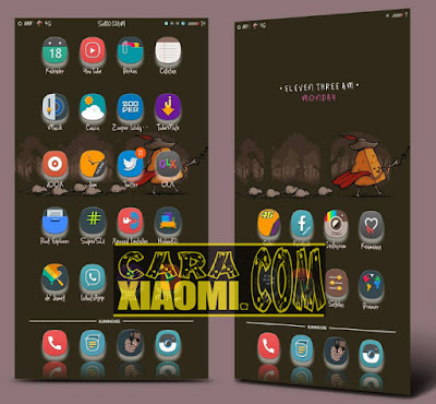 Icon Pack Elek Pool + Fonts Untuk Xiaomi MIUI