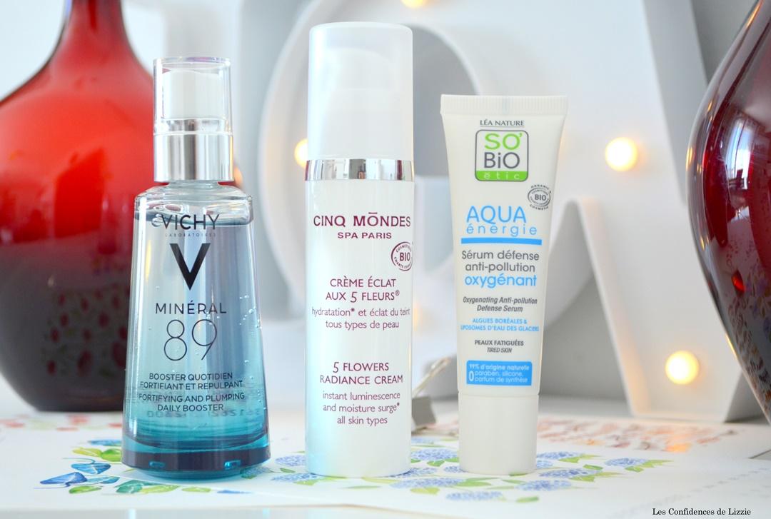soins pour le visage - soins en ete - peau souple - peau lumineuse - peau douce - peau hydratée - peau protegee du soleil