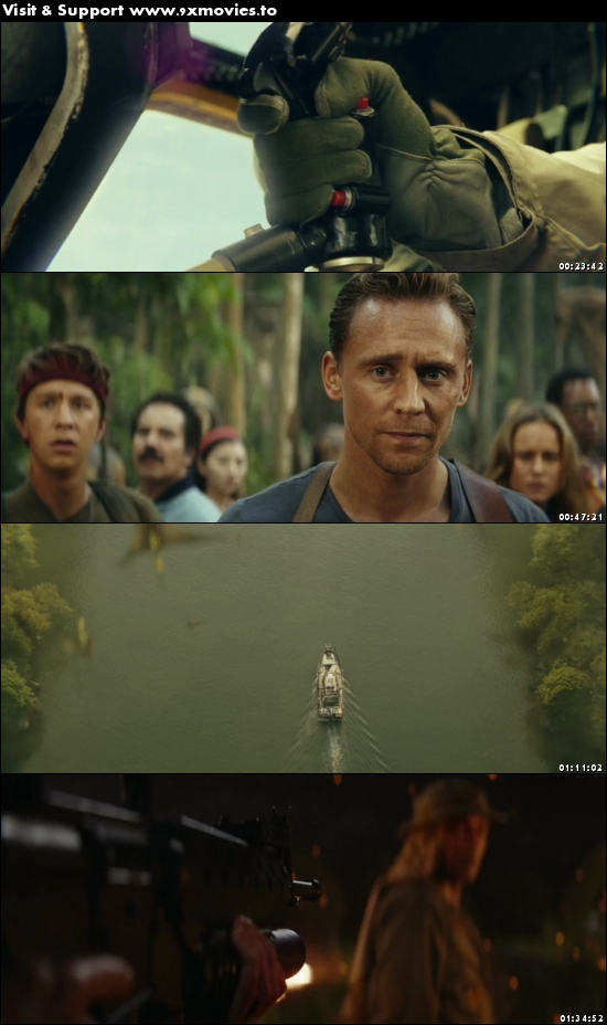 Kong Skull Island 2017 English 480p WEB-DL 300MB