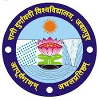 RDVV B.Com,B.Sc,BA Time Table 2017