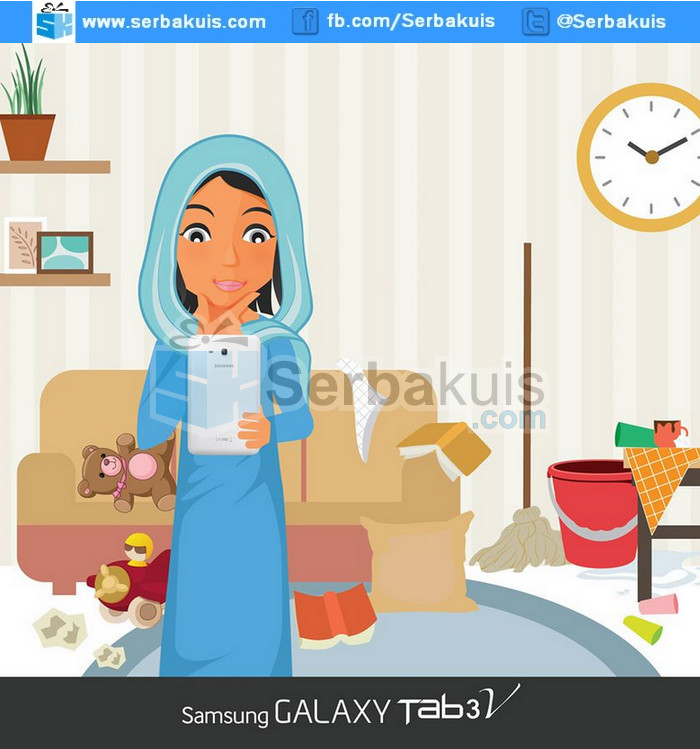 Kontes Cerita Berhadiah SAMSUNG Galaxy Tab 3V