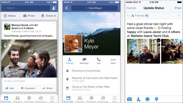 Facebook Janjikan Update di iOS Setiap BulanFacebook Janjikan Update di iOS Setiap Bulan