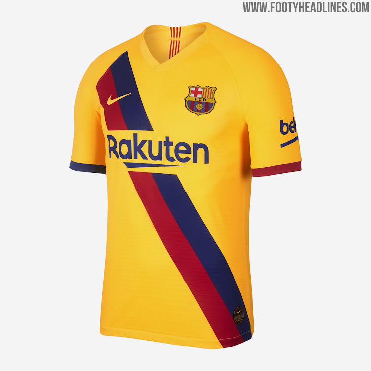 quality design 17959 2631f Barcelona 19-20 Away Kit Revealed - Footy Headlines
