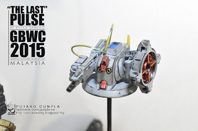 GBWC 2015 MALAYSIA - THE LAST PULSE by Putra Shining - PUTARO GUNPLA