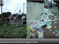 KESUKSESAN Partai Pendukung Ahok Bikin Taman Rusak dan Banyak Sampah