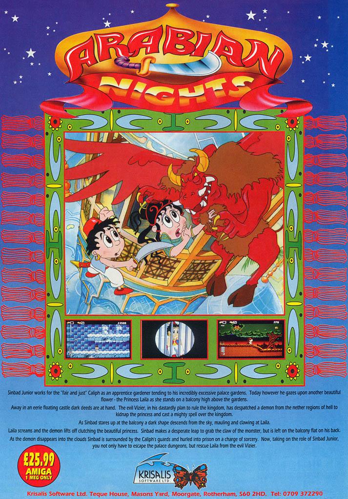 Amiga - Arabian Nights (1993)