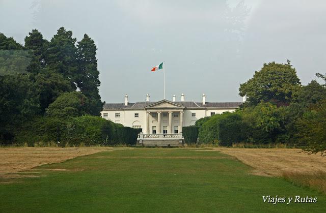 Casa del presidente, Dublin