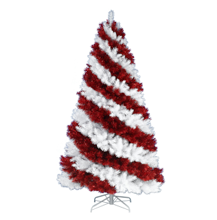 Patriotic Christmas Trees.Kandeeland The Coolest Undecorated Christmas Trees
