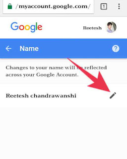 gmail account name change kese kare 4