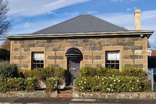 Stone cottage, Hobart, Tasmania.