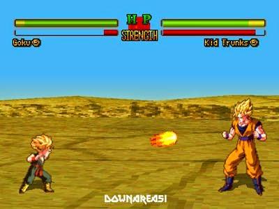 dragon ball z ultimate battle psx