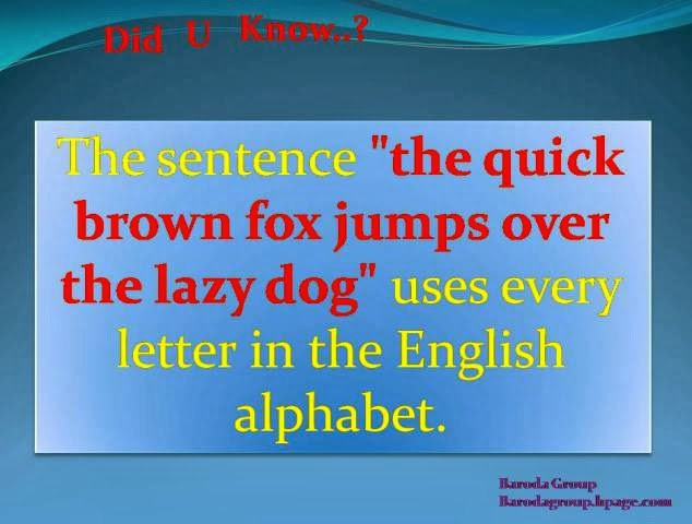 sentence with every letter did u a to z letter in one sentence 881