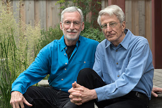 Michael McConnell, 73, and Jack Baker, 73, at their home in Minneapolis, Minnesota on July 1, 2015
