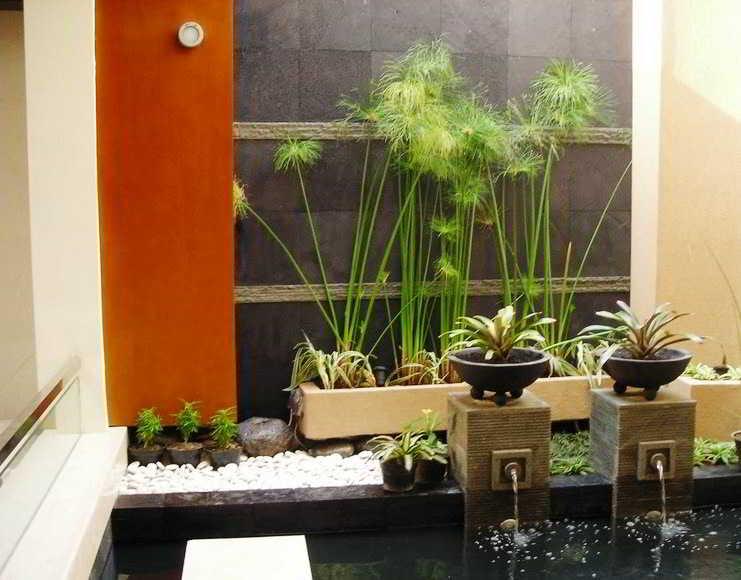 Foto Taman Minimalis Dalam Rumah