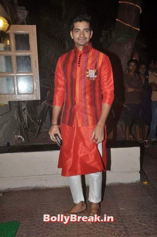 Vishal Singh,  Ekta Kapoor's Diwali Bash Photos