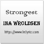 Strongest   Ina Wroldsen   Alan Walker Remix