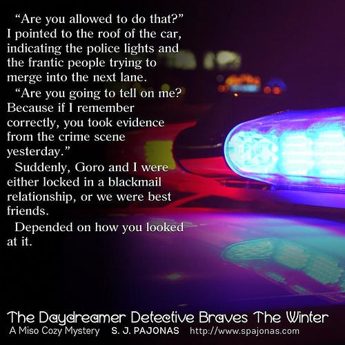 The Daydreamer Detective Braves the Winter teatser 5