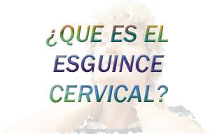 Que es el esguince cervical