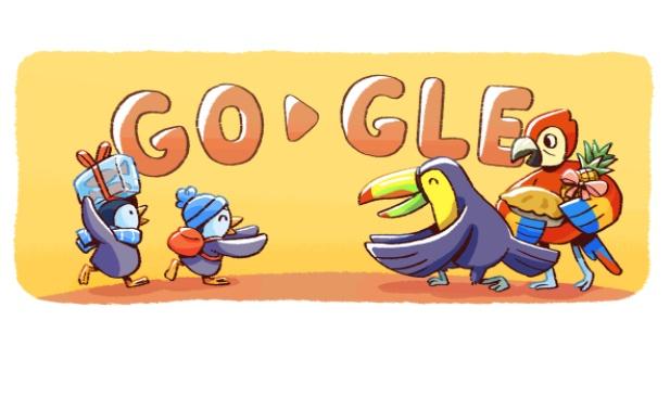 Buon Natale 2017 con il Doodle Google