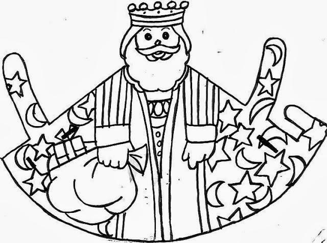 Dibujos Para Colorear De Los Tres Reyes Magos: Maestra De Primaria: Dibujos De Los Reyes Magos Para
