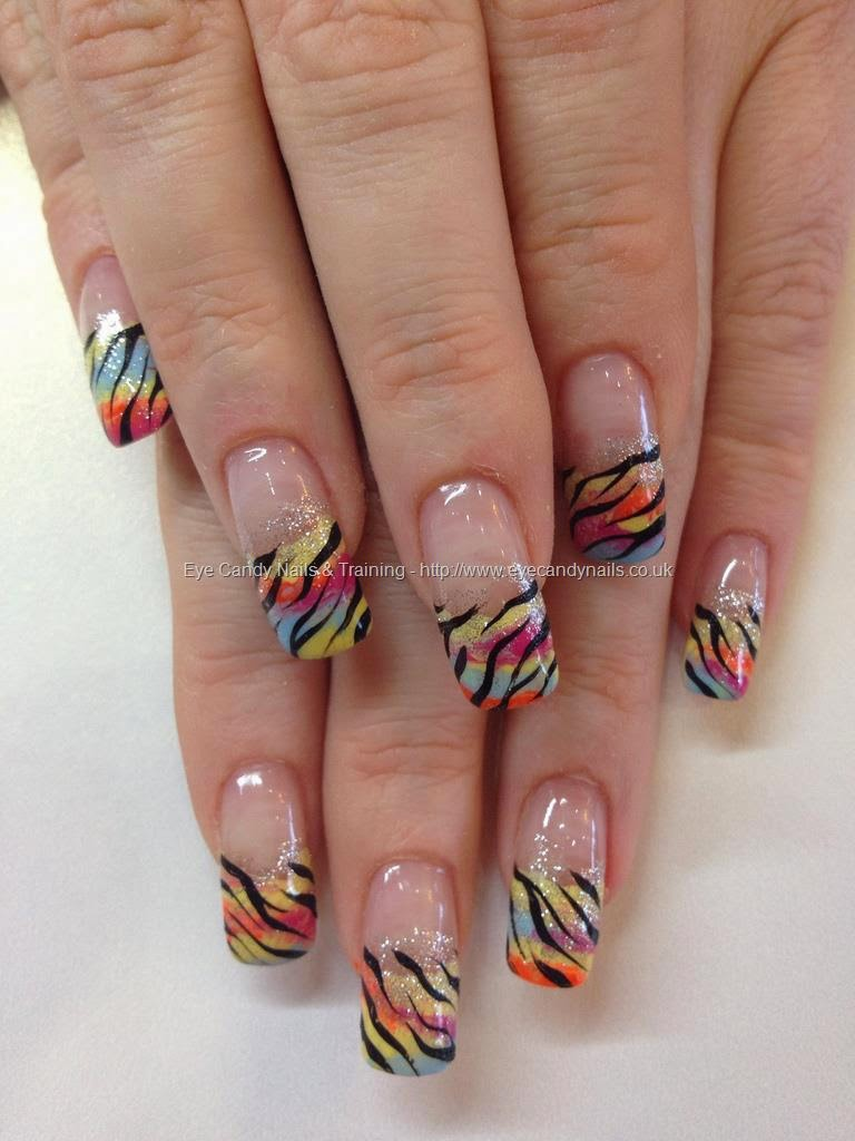 Acrylic Coloured Nail Tips Home Decoration Live