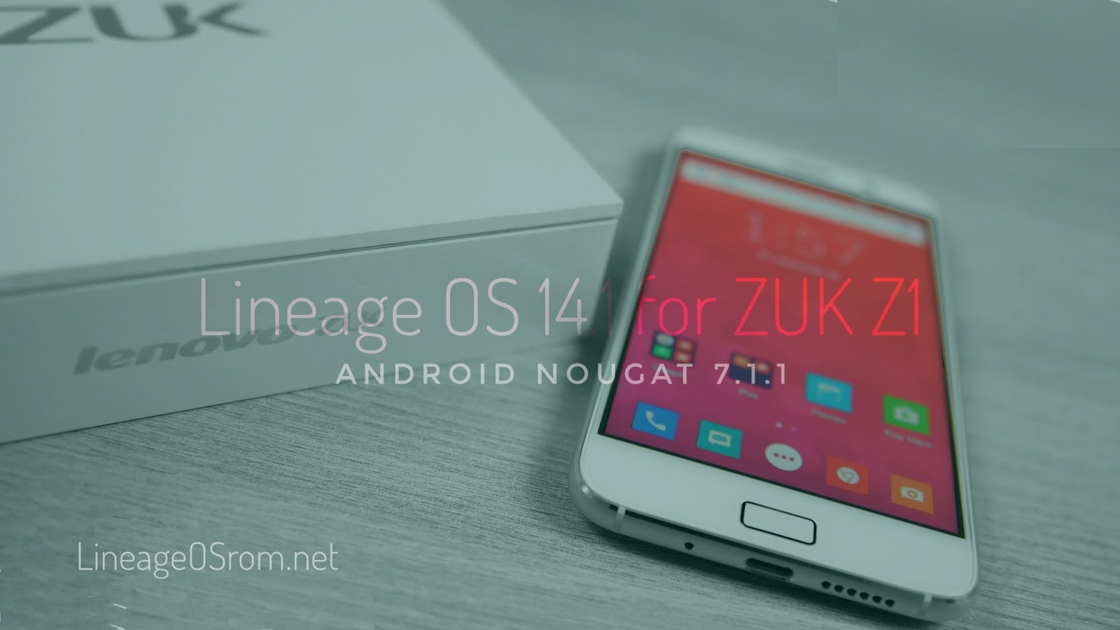 Lineage OS ROM for ZUK Z1