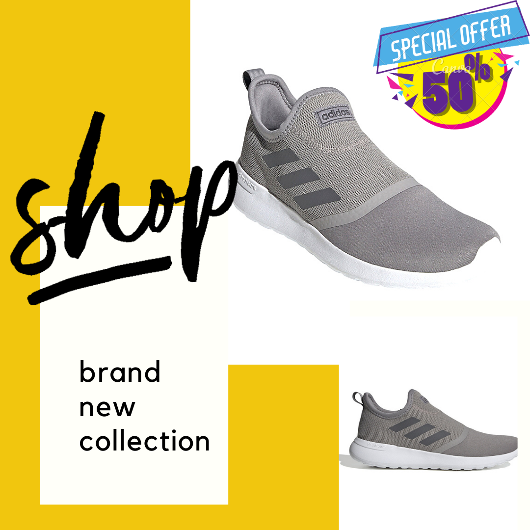 MEN'S ADIDAS SPORT INSPIRED LITE RACER SLIP-ON SHOES