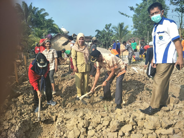 DD Makarti Mulya bangun Poskesdes