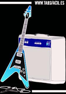 Acordes y tablaturas fáciles para guitarra.