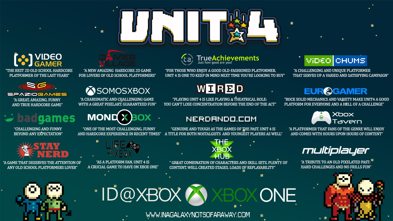 Unit 4 Xbox One Review Roundup