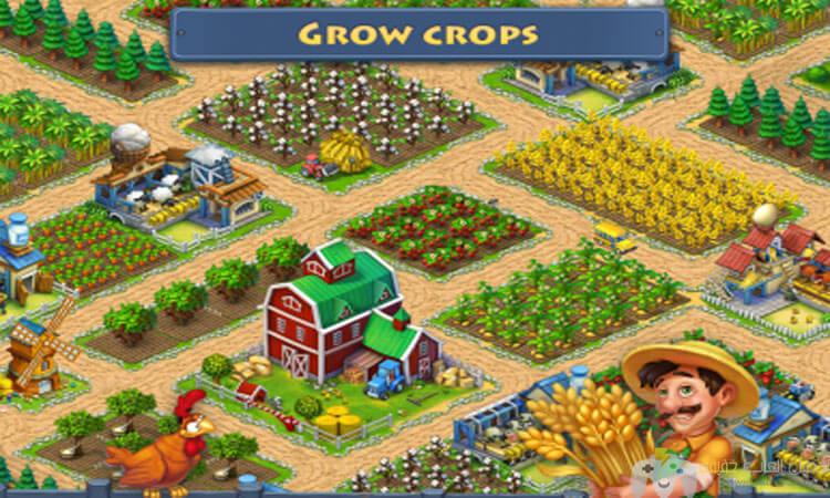 تحميل لعبة المزرعة تاون شيب Township للكمبيوتر والاندرويد مجانا