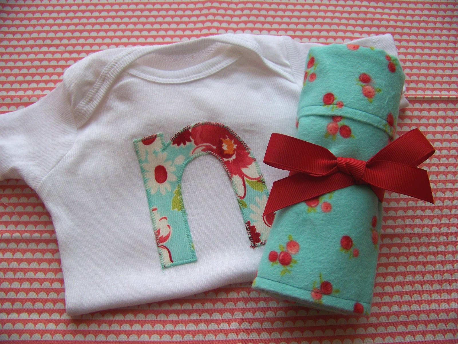 Burp cloth and onesie gift set a tutorial clover violet burp cloth and onesie gift set a tutorial baditri Image collections